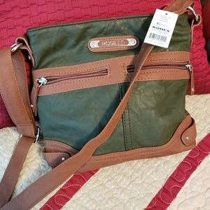 NWT Lovely Sage Crossbody Rosetti Bag